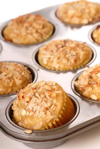 ... Gluten Free Dessert Recipes Sugar Free Pineapple Coconut Crumb Muffins