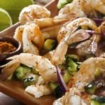 The Best Gluten Free Dinner Recipes Jumbo Prawns with Balsamic Orange Onions