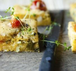 The Best Gluten Free Dinner Recipes Polenta and Black Bean Pie