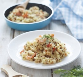 The Best Gluten Free Dinner Recipes Quinoa and Chicken or Shrimp Fricassée