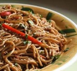 The Best Gluten Free Dinner Recipes Sweet and Spicy Peanut Noodle Salad