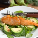 The Best Gluten Free Lunch Recipes Avocado and Salmon Salad