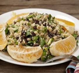 The Best Gluten Free Lunch Recipes Quinoa and Black Bean Salad
