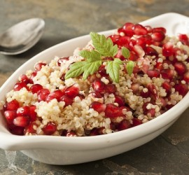 The Best Gluten Free Lunch Recipes Pomegranate Seeds and Quinoa