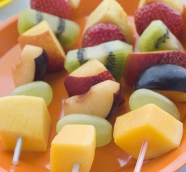 The Best Gluten Free Lunch Recipes Tropical Fruit Kebabs