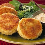 The Best Gluten Free Snack Recipes Brown Rice and Goat Cheese Cakes